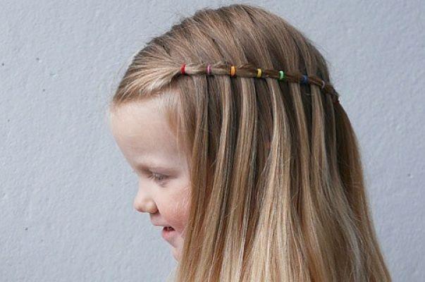 peinado milkmaid para las niñas
