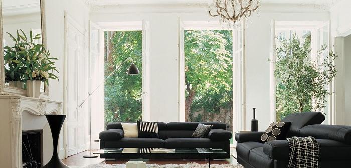 4 formas de decorar una sala elegante y con estilo for Pisos elegantes para sala