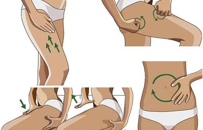 masajes para eliminar la piel de naranja