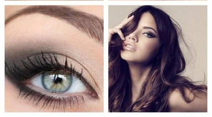 las sombras para maquillar los ojos verdes