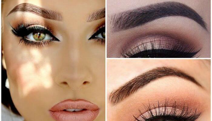 cejas perfectas para maquillaje de ojos verdes