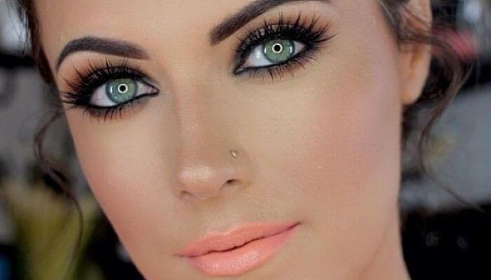 como maquillarse los ojos verdes