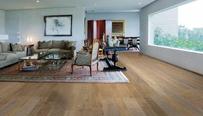 Piso y alfombras estilo vintage