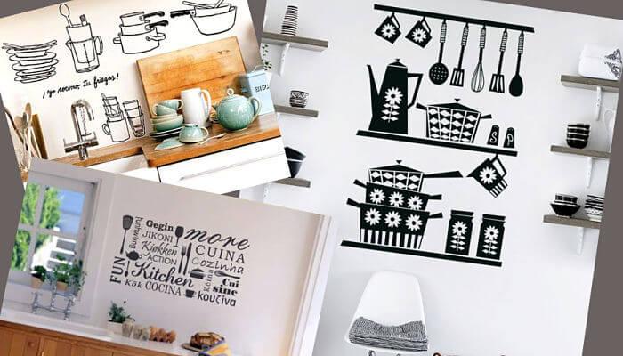 autoadhesivos para decorar la cocina