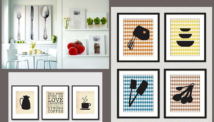 cuadros para decorar la cocina