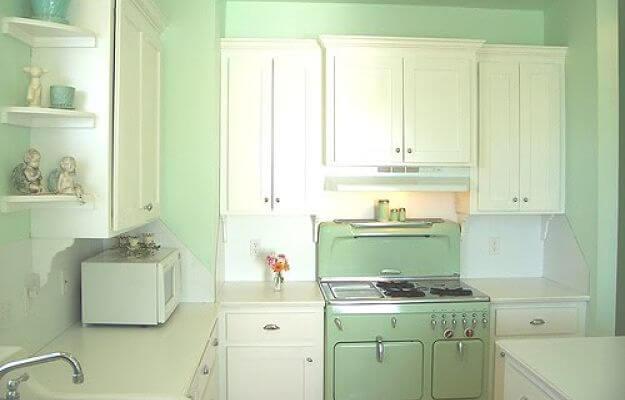 pinta las paredes de tu cocina