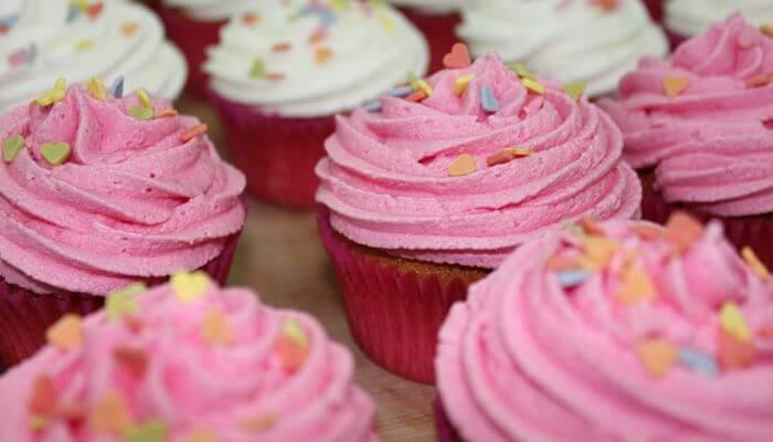 recetas de cremas para decorar cupcakes