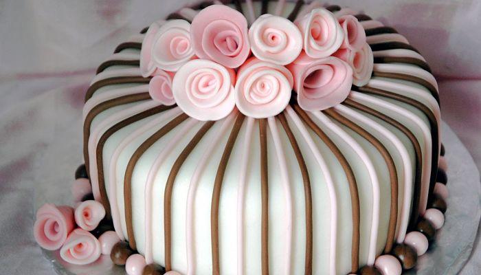 tecnica del fondant para decorar tortas
