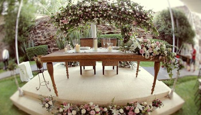 decoracion vintage para boda civil