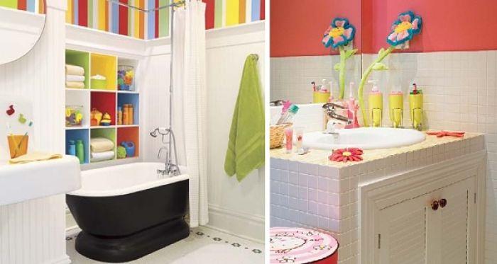 decora el baño para los niños