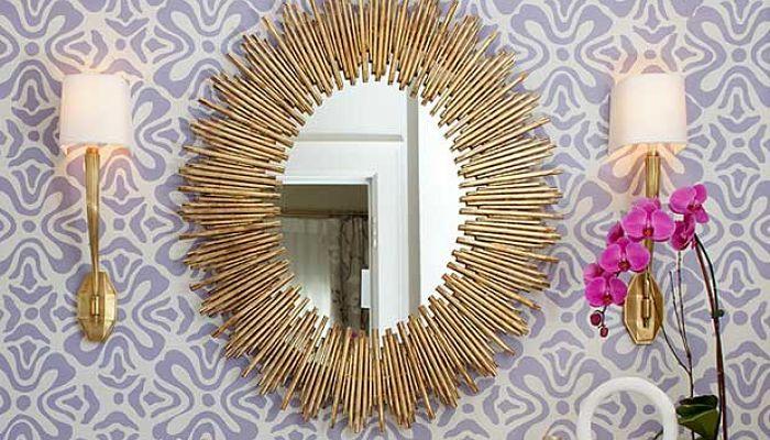 decora el baño con espejos