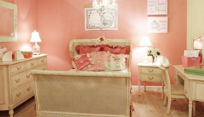decoracion en rosa para habitacion infantil