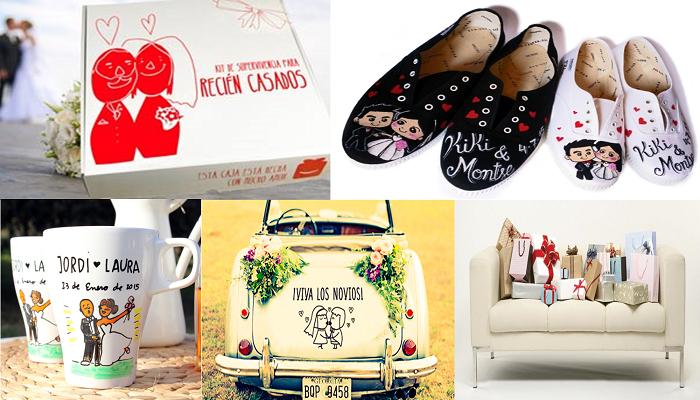 Ideas de regalos originales para regalar a los novios - Regalos originales para casa ...