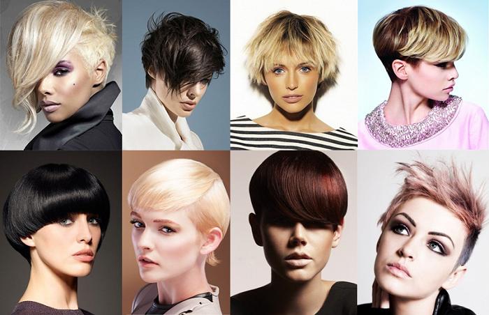 los cortes de cabello corto