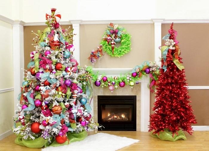 como decorar un rbol de navidad - Como Adornar Un Arbol De Navidad