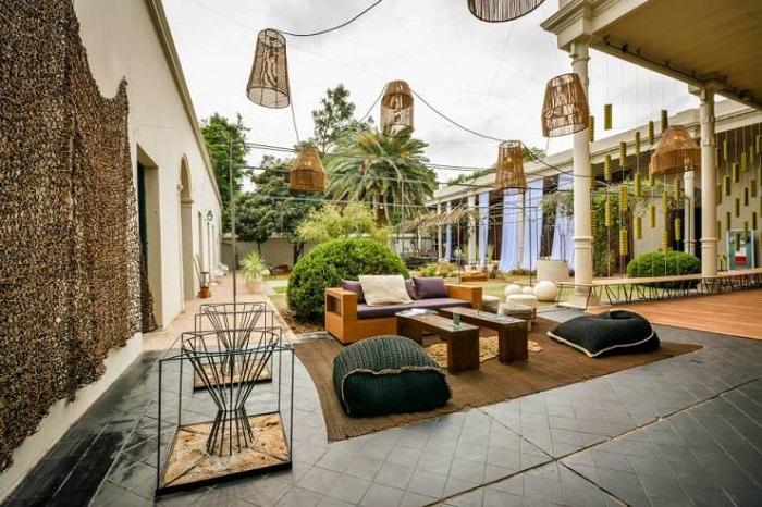 decoración de terrazas y jardines wabi sabi