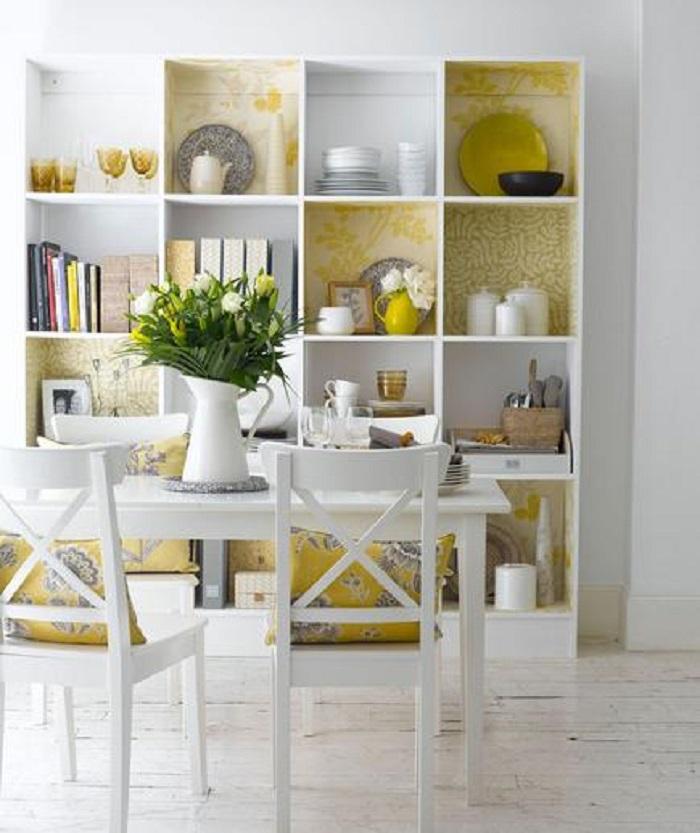ideas para decorar la cocina con colores neutros