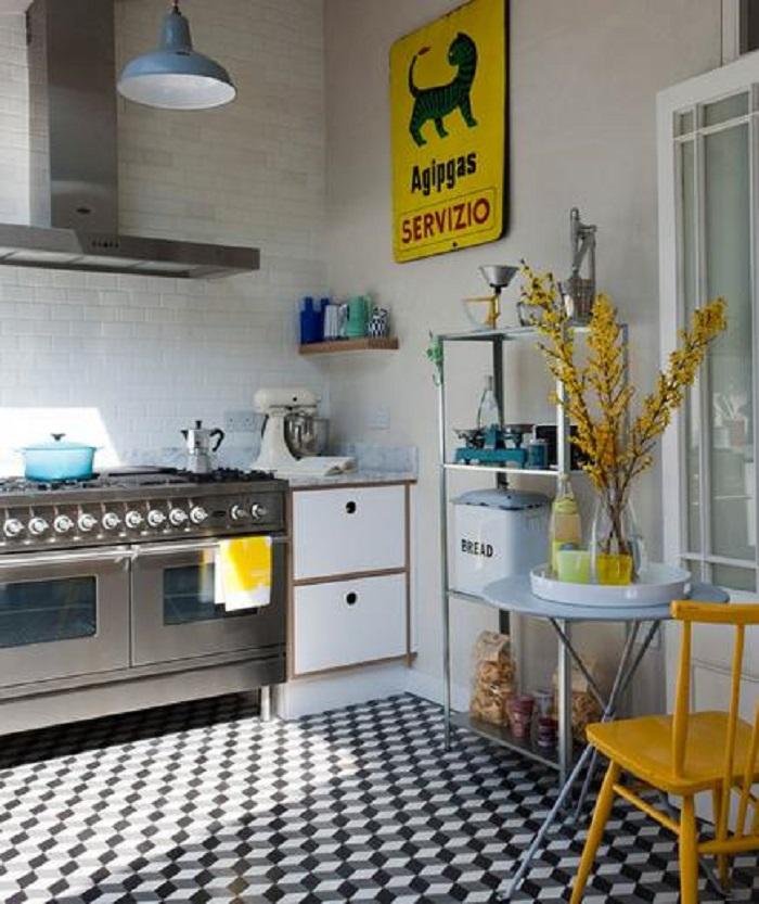 ideas para decorar la cocina con poco espacio