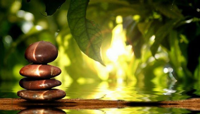 la- tranquilidad de la meditación