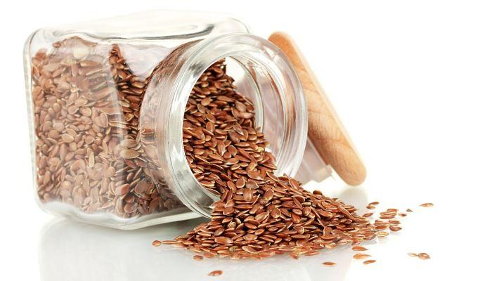 semillas de linaza para el cabello