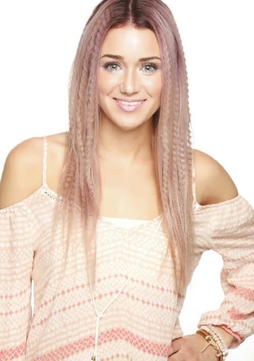 peinados de pelo largo ondulado