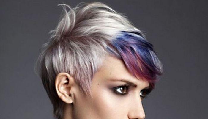 Perfección punk - rock en pelo corto