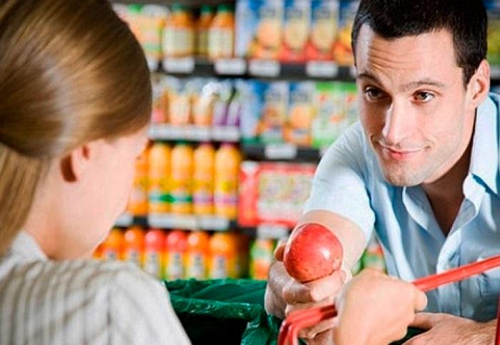 sitios de cita en el supermercado