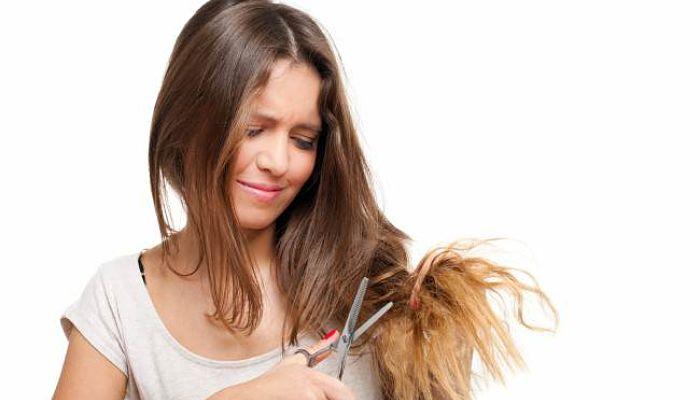 vitamina E para el cabello maltratado