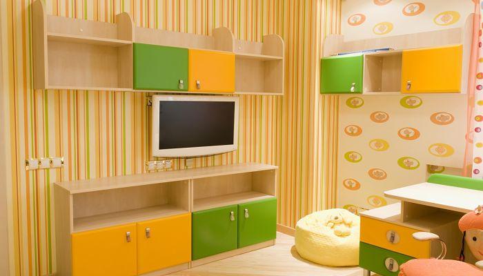 Colores para la habitación de juegos