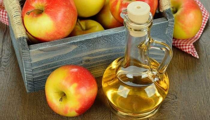 Vinagre de cidra de manzana para el cuero cabelludo irritado