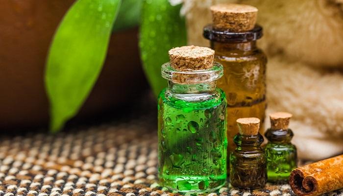 Aceite de árbol de té para el cuero cabelludo irritado