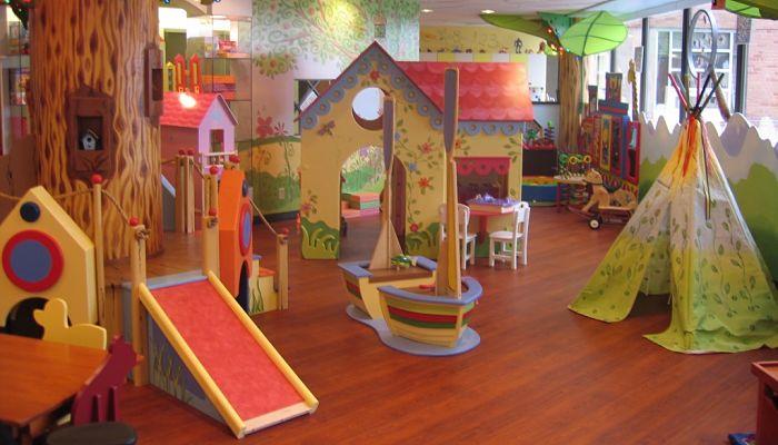 Mobiliarios para la habitación de juegos