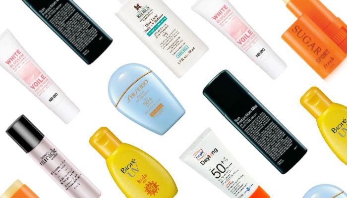 Tipos de protectores solares faciales para piel grasa