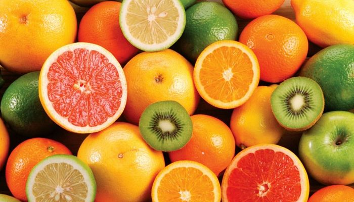 cítricos ricos en ácido fólico