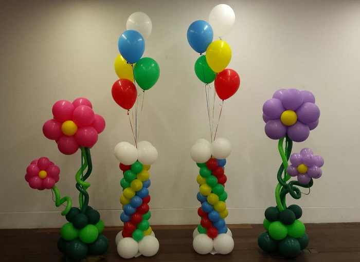 Tecnicas para decorar con globos como decorar un salon de for Como hacer decoracion con globos