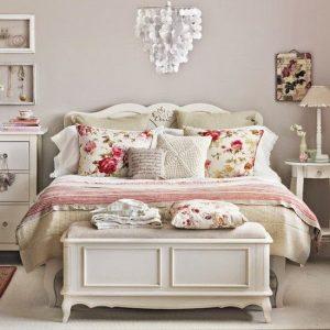 como decorar una habitación matrimonial vintage