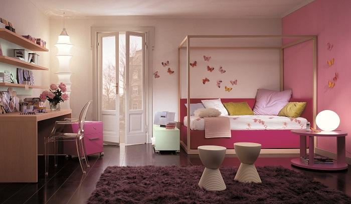 como decorar una habitación pequeña popart