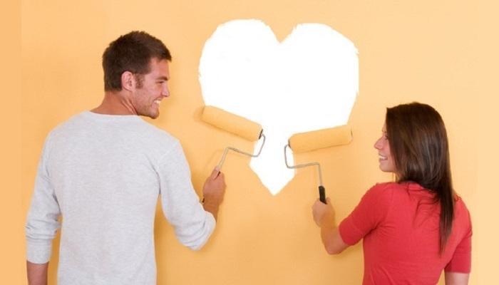 como pintar una habitación de matrimonio