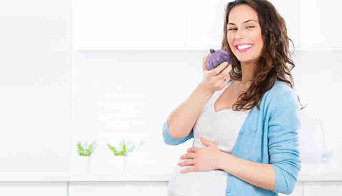 como controlar el hambre durante el embarazo