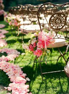 decoración de mesas para bodas estilo rustico y vintage