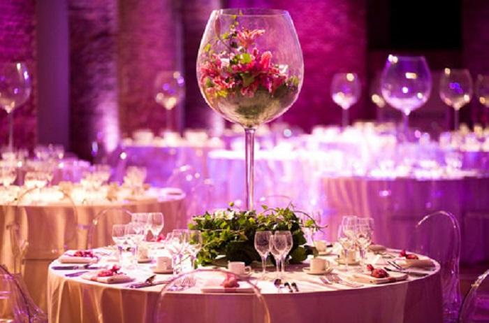 ideas de decoracin de mesas para bodas