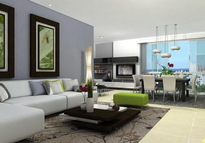 4 nuevos estilos de decoraciones para interiores fuera de