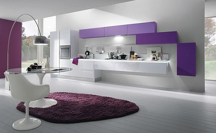 ideas de decoración de cocinas modernas pequeñas integradas