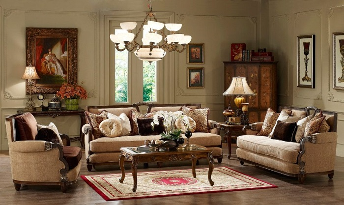 ideas de decoración para salones clásicos