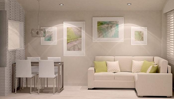 ideas de decoración para salones con muebles pequeños