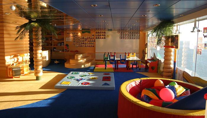 Iluminación natural para la habitación de juegos