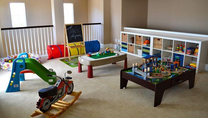 Ideas para decorar la habitaci n de juegos 15 maravillosas - Decorar habitacion de juegos para ninos ...