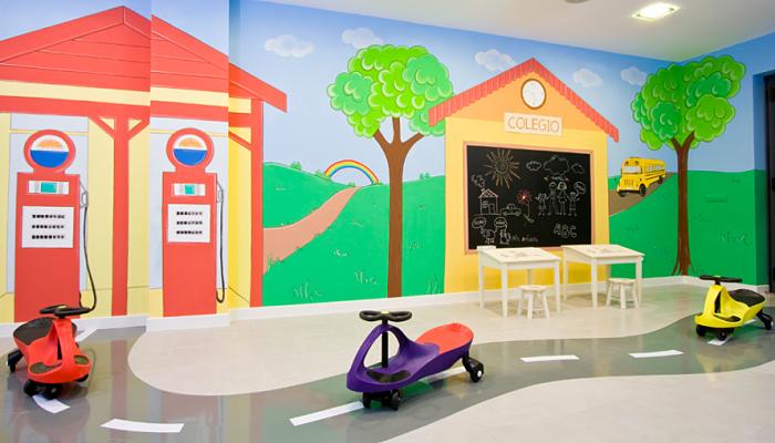murales para la habitación de juegos
