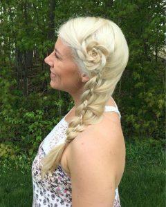 peinados con trenzas fáciles con florette