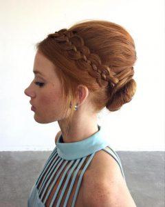 peinados con trenzas fáciles de la mod